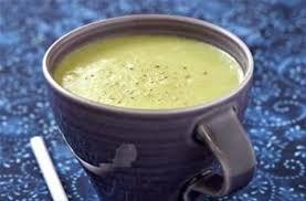 poireaux cuisine soupe de poireaux au fromage de chèvre frais