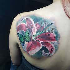 155 pretty lily tattoos designs and meanings 2017 collection