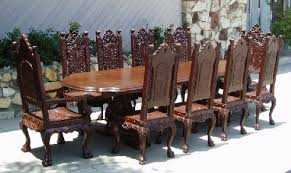 old world dining room tables renaissance architecture custom old world furniture custom