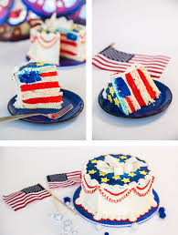 Red White And Blue Home Decor 4th Of July Diy Red White And Blue Cake