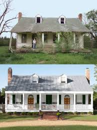 fixer upper ranch bricks and house
