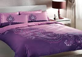 Purple Pink Bedroom - bedding color symbolism