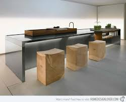 shaped kitchen island made of cedar tree designs pinterest 70 kitchen island ideas for creating a gorgeous kitchen design
