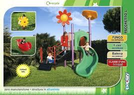 giardino bambini giochi da giardino usati per bambini gioco a molla e scivolo bimbi