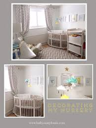 Used Round Crib For Sale by Decorating My Nursery How I Used Etsy U2013 Baby On My Brain
