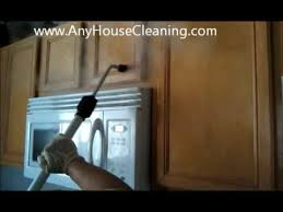 Best Way To Remove Grease From Kitchen Cabinets by Vapor Steam Greasy Kitchen Cabinets Sanitize All Your Kitchen