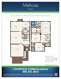 homes floor plans with pictures aragon by lennar homes estate home floorplans