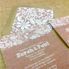 Wedding Invitation Companies Burlap U0026 Lace Design Wedding Invitation Stationery U0026 Matching