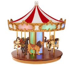 mr carousel with lights page 1 qvc