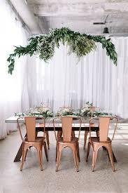 Copper industrial modern wedding Spring wedding