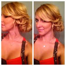 hairstyles easy to do for medium length hair side bun updo for medium hair or long hair youtube