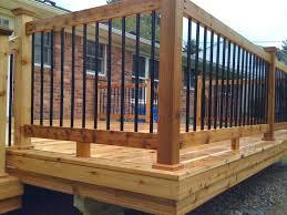 Decking Handrail Ideas Unique Deck Railing Balusters Connecting Deck Railing Balusters