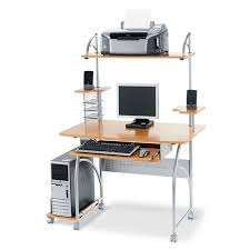 Illustra Desk With Hutch by Office Depot Computer Desks
