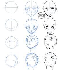 how to draw manga u2014 how to draw manga faces