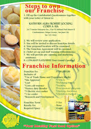 cornaha franchise information