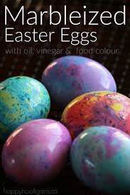 easter egg dyes how to make marbleized easter eggs happy hooligans