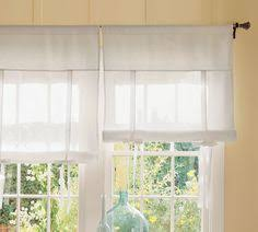 Tie Up Curtains Semi Sheer Tie Up Curtain For A Simple Farmhouse Look From Country