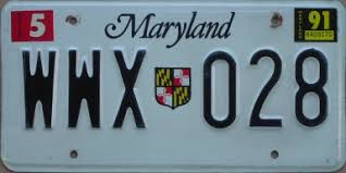 Banned Vanity Plates Rick Kretschmer U0027s License Plate Archives Maryland Errors And