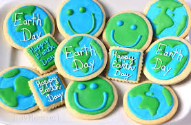 day cookies foodista earth day cookies