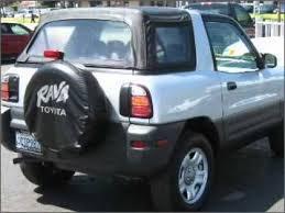 toyota rav4 convertible for sale 1998 toyota rav4 whittier ca