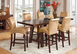 Rooms To Go Dining Room by Mango Burnished Walnut 5 Pc Counter Height Dining Room Dining