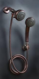 Outdoor Shower Fixtures Copper - amazon com mariner oil rub bronze combination shower head home