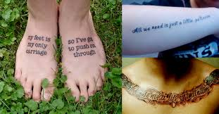 sing along with these 15 song lyric tattoos from billy joel u0027s