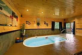 6 Bedroom Cabin Pigeon Forge Tn Private Indoor Pool Cabin Rentals In Pigeon Forge Tn