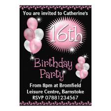 free printable sweet 16 birthday invitations ideas templates
