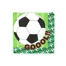 football decorations 20pcs football soccer theme napkin party decorations baby happy