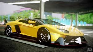 lamborghini veneno sports car running away from the on the highway on the sports