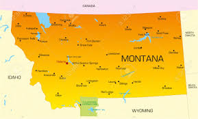 Map Of Montana And Wyoming by 2 129 Montana Stock Illustrations Cliparts And Royalty Free