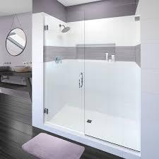 3 Panel Shower Door Tresor Frameless 3 8 Inch Glass Swing Door Basco Shower Doors