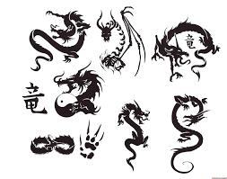 symbole japonais tattoo google search dragon pinterest