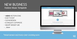 parallax new busines u2013 muse template free download free after