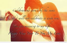 wallpaper best wishes happy new year with messages lover card
