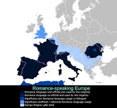 Europe Language Map by Indo European Languages My Five Romances
