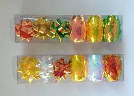iridescent wrapping paper pet and iridescent gift wrap ribbon set christmas gift ribbon