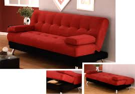 futon beds with storage modern home interior with pretty red