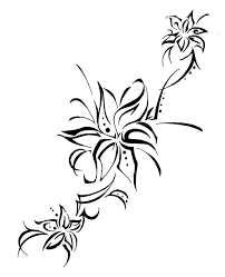 water lily tattoo on back photos pictures and sketches