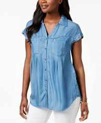 chambray blouse chambray shirt shop chambray shirt macy s