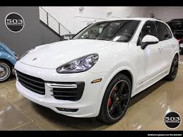 Porsche Cayenne Modified - 2016 porsche cayenne gts white black w only 9k miles