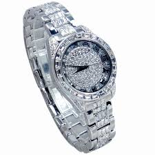 Fine Crystal Genuine Marisa Melissa Dazzling Series Of Fine Crystal Watches Ol