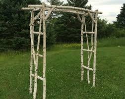 wedding arches to buy white birch wedding arch