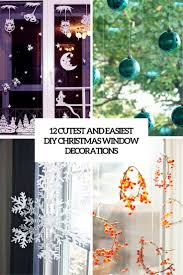 window decorations 12 cutest and easiest diy christmas window décorations shelterness