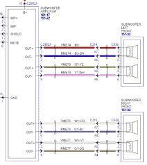 ford premium sound wiring diagram 2002 ford explorer radio wire
