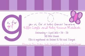 design butterfly baby shower invitations