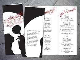 nightmare before wedding invitations wedding