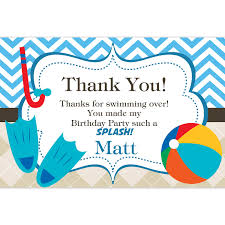The Invitation Card Thank You For The Invitation To The Party Invitation Ideas