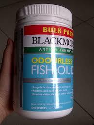 Minyak Ikan Blackmores terjual jual minyak ikan blackmores 400 500 kapsul odourless fish